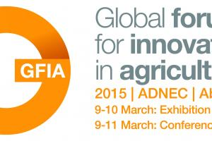 Open data at the Global Forum for Innovations in Agriculture (GFIA),Abu Dhabi.